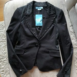 GUESS by Marciano black studded blazer